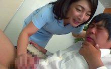 性欲モンスター…チンポに飢えた看護婦さんが大暴走!不妊治療で訪れた夫婦の旦那さんを寝取る松沢ゆかり!
